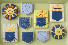 Pocketful of Sunshine Cookies by Cookie Bliss (Laurie), via Flickr