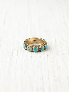 free people Turquoise Studded Wrap Ring- who wants to get me this...