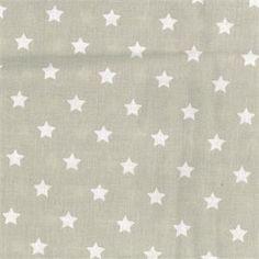 Tissu+100%+coton+star+big+toffee.+Largeur+150+cm.+Vendu+par+10+cm.