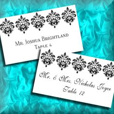personalized customized reserved table signs printable download