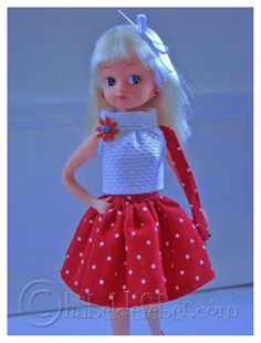 Feber Chabel Patterns Chabel (Spanish Licca doll clothes modelo no3)