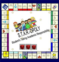 STARopoly (Behavior-opoly) for the SmartBoard