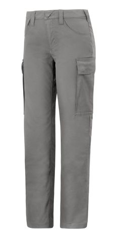 Service trousers with a perfect female fit that offer amazing freedom of movement and a curved waistband for more comfort. Combine these trousers with your company logo for a striking appearance and a best first impression. - Snickers Workwear Artnr. 6700