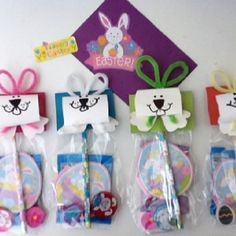 Little easter goodie bag for school friends patelyns board of easter goodies bags ready for preschool negle Choice Image