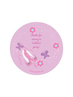 Ballet Personalized Stickers