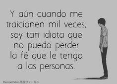 Puedo seguir confiando en ellos Spanish Quotes, Romans, Vocaloid, Nostalgia, Sad, Black, Amor, Schmuck, Sentimental Quotes