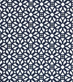 Outdoor Fabric-Sunbrella Furn Luxe-Indigo & Outdoor Fabric at Joann.com