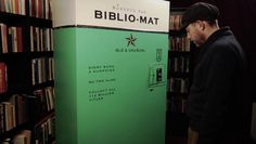 craig small: biblio-mat - a random book dispenser