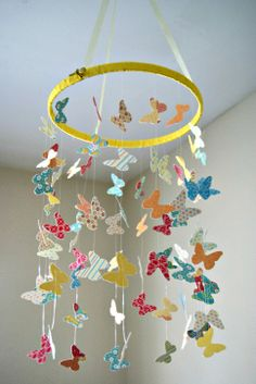 baby mobile diy - Google Search