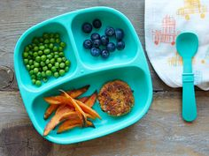 Get inspired with this roundup of fabulous finger food recipes for toddlers, featuring mini burgers, chicken fingers, veggies and dip, and more.