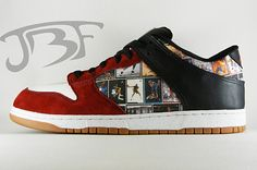 JBF Air Jordan Tribute Dunk Low #sneakers