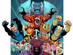 Daily @deviantART Picks Mayhem Fest Edition #Invincible #ImageComics | Images Unplugged