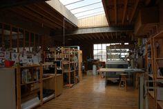London studio skylight