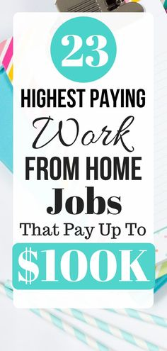 23 Best Work from Home Jobs that Pay Well - Earn money from home - Earn Money From Home, Earn Money Online, Way To Make Money, Money Today, Legitimate Work From Home, Job Work, Work From Home Tips, Home Based Business, Business Ideas