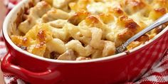 Easy Pasta Recipes, Chicken Recipes, Dinner Recipes, Cooking Recipes, Healthy Recipes, Cooking Tips, Macaroni N Cheese Recipe, Baked Macaroni, Mac Cheese