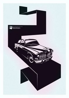 Volvo, car, design, inspiration, illustration