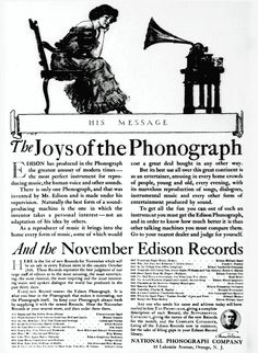 The joys of the phonograph (1907) - Click Americana