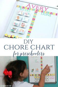 DIY Chore Chart for