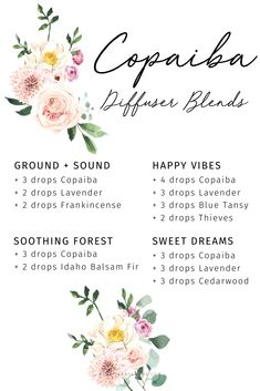 Learn more about Young Living oils and get your starter kit today! Copaiba Essential Oil, Essential Oils 101, Essential Oils Cleaning, Essential Oil Diffuser Blends, Young Living Oils, Young Living Essential Oils, Essential Oil Combinations, Room Scents, Blue Tansy