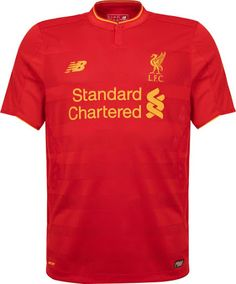 The new Liverpool home kit does it without any white applications.  Liverpool s jersey is set to be released in the coming weeks. c0538356ae49b