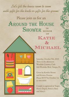 Household Shower Decorations House Full Bridal Shower