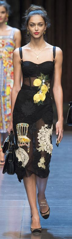 ♡Dolce & Gabbana Collection Spring 2016