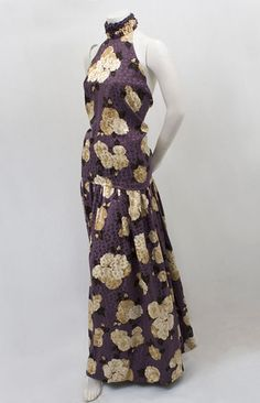 Designer Clothing at Vintage Textile: #2538 Galanos evening pants