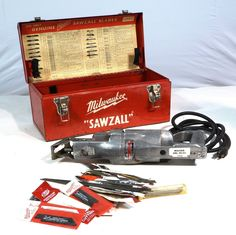 Vintage Milwaukee 6510 Sawzall Grounded Power Tool Heavy Duty 2 Speed 120 V | eBay