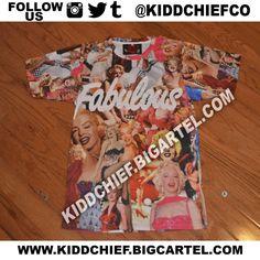 Fab Fabulous Monroe Tee / Kidd Chief