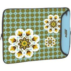 """Designer Sleeve 17"""" Laptop Case 60's Butterfly with FREE matching Laptop Skin Review"""