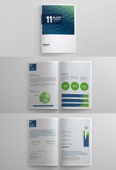 Caixa BI Annual Report - Editorial Design - Creattica
