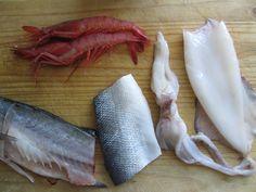 Pesce ! Preparazione di 1°  grigliata mista  Gino D'Aquino
