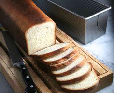 Pullman Bread Loaf- beautiful sandwich bread with a fabulous rectangular presentation.