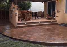 stamped concrete patios colorado springs