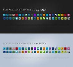 social media #Icons