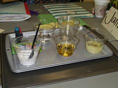Want to have some fun experimenting with chemical reactions?    Give students the following materials:   lemon juice  apple cider vinegar ...