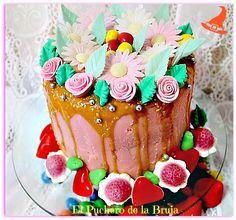 El Puchero de la Bruja: DRIP CAKE (TARTA CON GOTAS)
