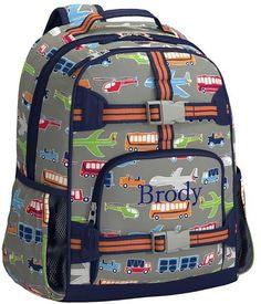 529deab2ef6c Pottery Barn Kids Mackenzie Brody Transportation Lunch Bag