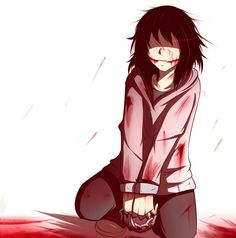 Jeff the Killer, shackles; Creepypasta
