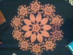 タティングレース 葉っぱのドイリー by YOKKIIの画像 | アトリエトゥループの『いろどりカルチェ』