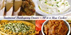 Slow Cooker Traditional Thanksgiving Recipes - Get Crocked Slow Cooker Recipes from Jenn Bare for Busy Families