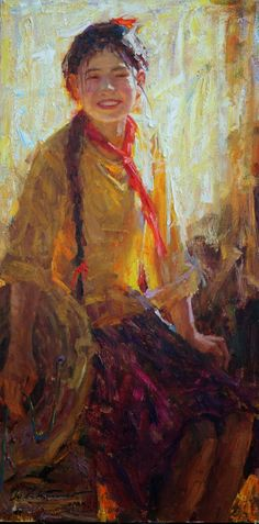Zhiwei Tu, 1951 ~ Romantic Impressionism painter   Tutt'Art@   Pittura * Scultura * Poesia * Musica  
