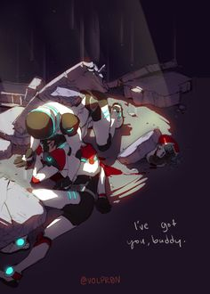 """""""I've got you budddy"""" - by volpr0n - Shiro and Keith"""