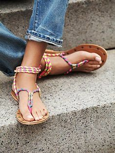 Free People Cosworth Wrap Sandal. Perfect for super casual days...