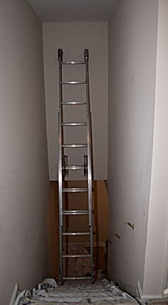 Diy Scaffolding For Painting Tall Walls In A Stairwell