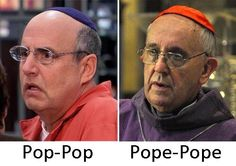 When the news keeps talking about the Pope this is all I see