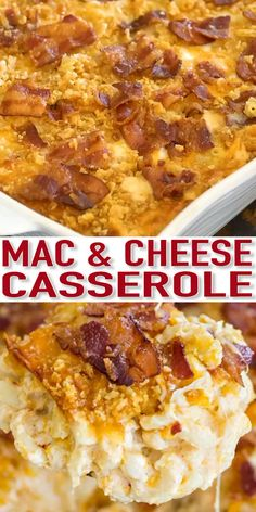 thanksgiving recipes Mac and Cheese Casserole is creamy, cheesy and very easy to make. This version of homemade baked Mac and Cheese Casserole is my most favorite and its a huge hit with kids and adults alike. Mac And Cheese Casserole, Macaroni Cheese Recipes, Easy Casserole Recipes, Casserole Dishes, Breakfast Casserole, Bean Casserole, Baked Mac And Cheese Recipe, Chicken Casserole, Chicken And Cheese Recipes