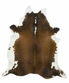 Black Brown White Natural Cowhide