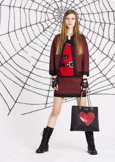 Love Moschino Fall/Winter 2014-2015 #lovemoschino #fall #winter #fashion