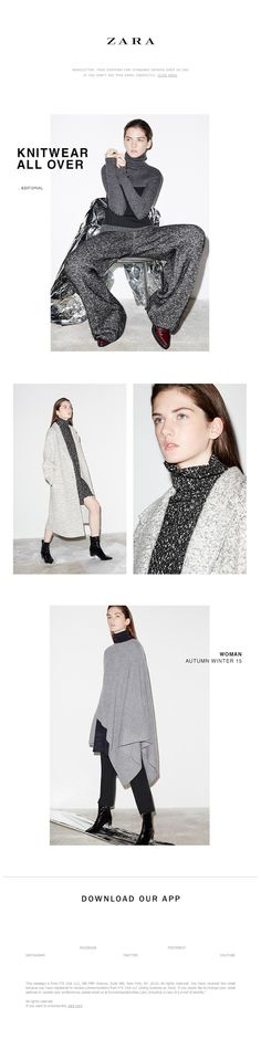 ZARA - New | Knitwear all over